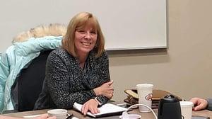 Glenda Wegener in meeting