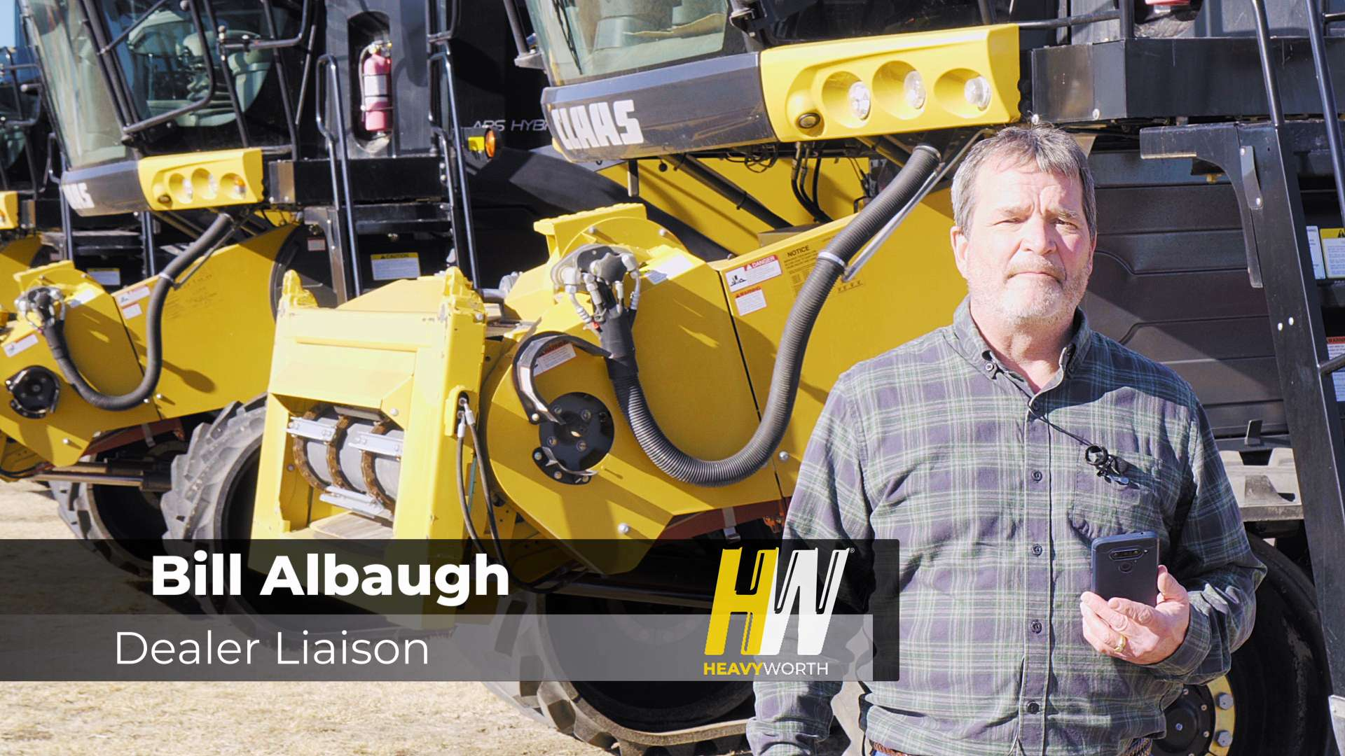Bill Albaugh, HeavyWorth's dealer liaison