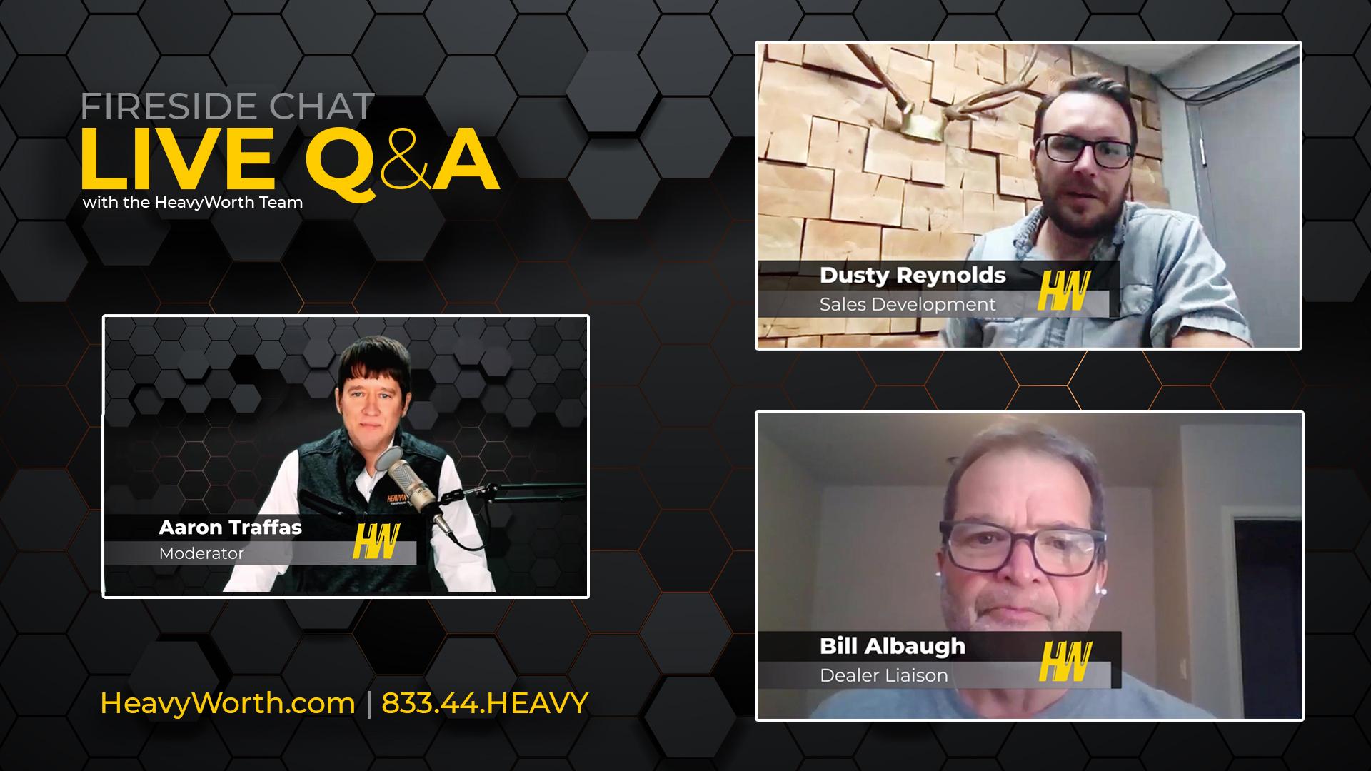 March 2021 webinar - Q&A with the HeavyWorth team